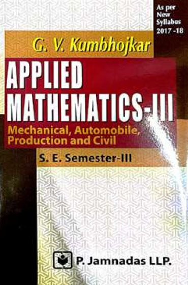 Applied mathematics sem3 ( G.v khumbhojkar )