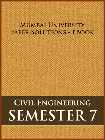 Buy solved question papers for Mumbai University - Civil Engineering ( Semester 7 )