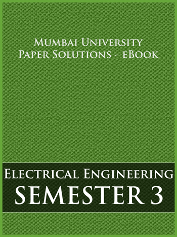 Buy solved question papers for Mumbai University - Electrical Engineering ( Semester 3 )