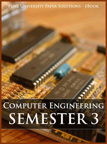 Buy solved question papers for Savitribai Phule Pune University - Computer Engineering ( Semester 3 )
